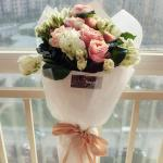 轻奢月包鲜花(一月4束)